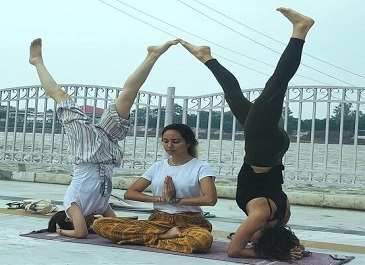 500 Hour Hatha Yoga Teacher Training in Rishikesh India