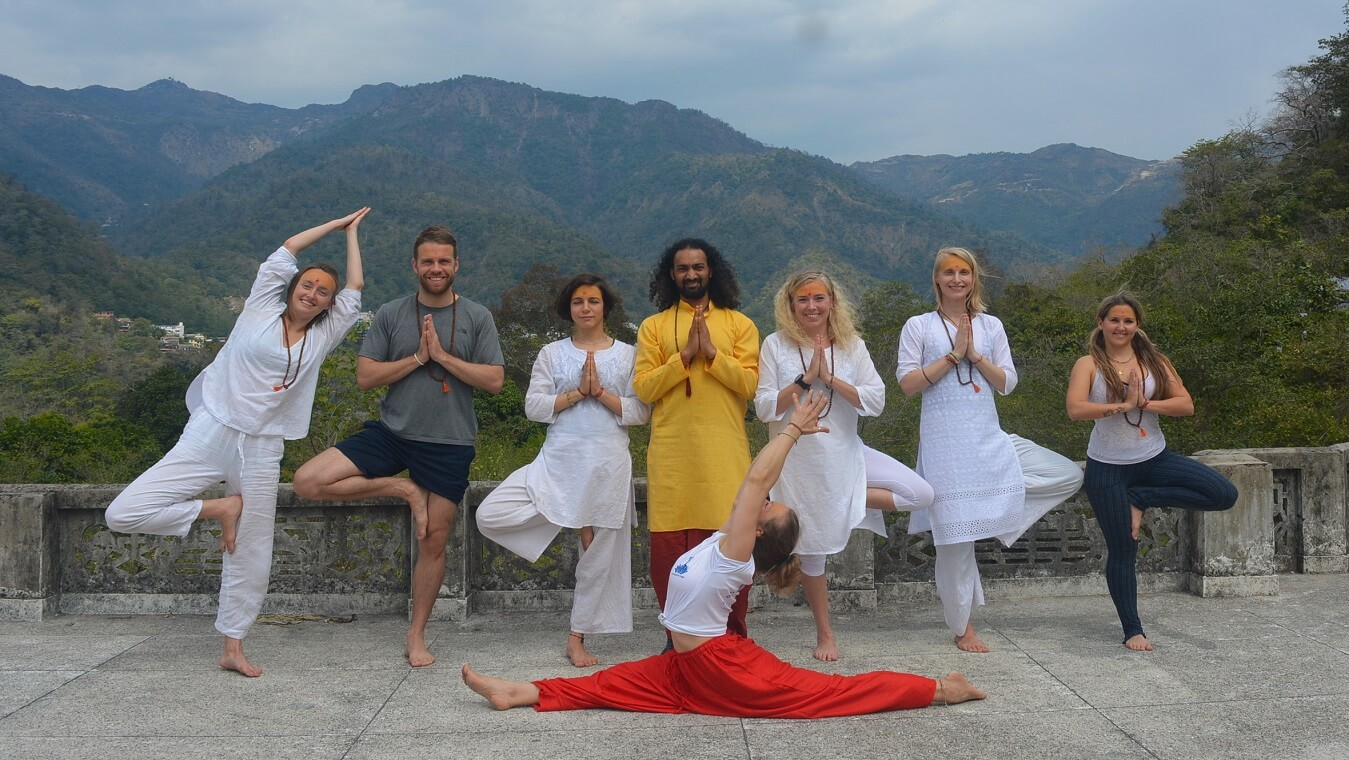 200 hours Yoga Teacher Training Course in Rishikesh, India