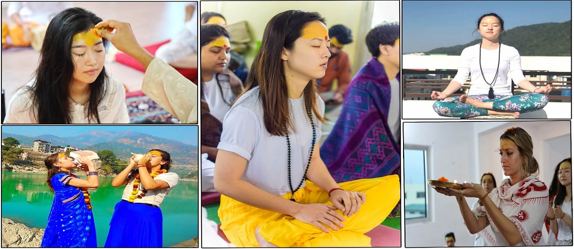 Pranayama and Meditation Yoga Teacher Training in Rishikesh, India